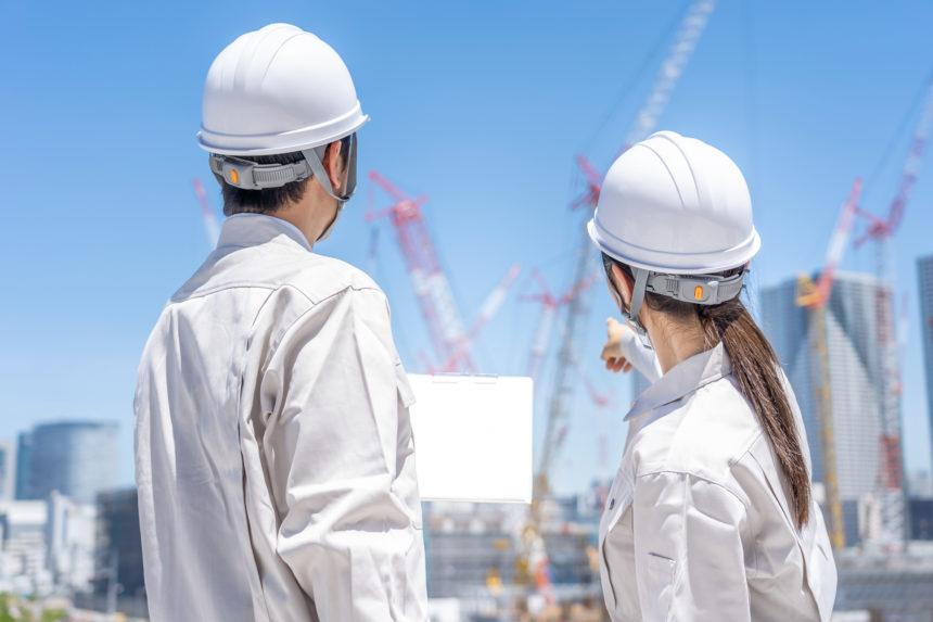 建設業における女性労働者